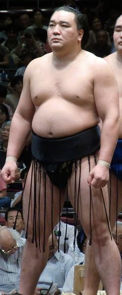 Harumafuji. 2011 Eylül turnuvasında. Foto: Fourtildes