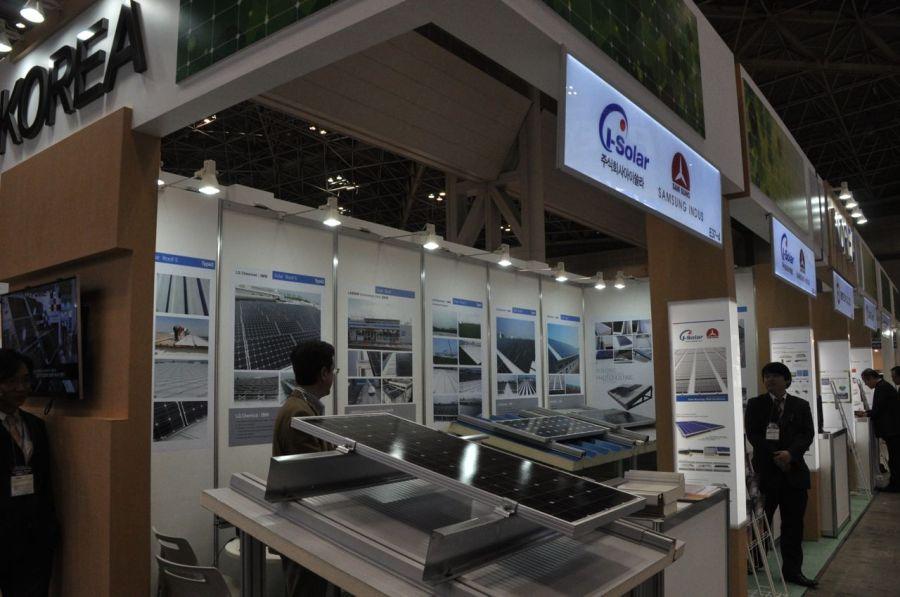 Panel montaj sistemleri. Bu seneki PVJapan fuarını inşaat ve montaj şirketleri doldurmuştu.