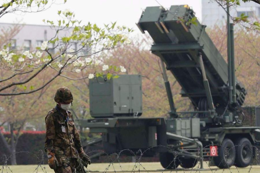 Tokyo merkezinde Patriot bataryaları (kaynak: www.abc.net.au sitesinden izinsiz kopyalanmıştır)