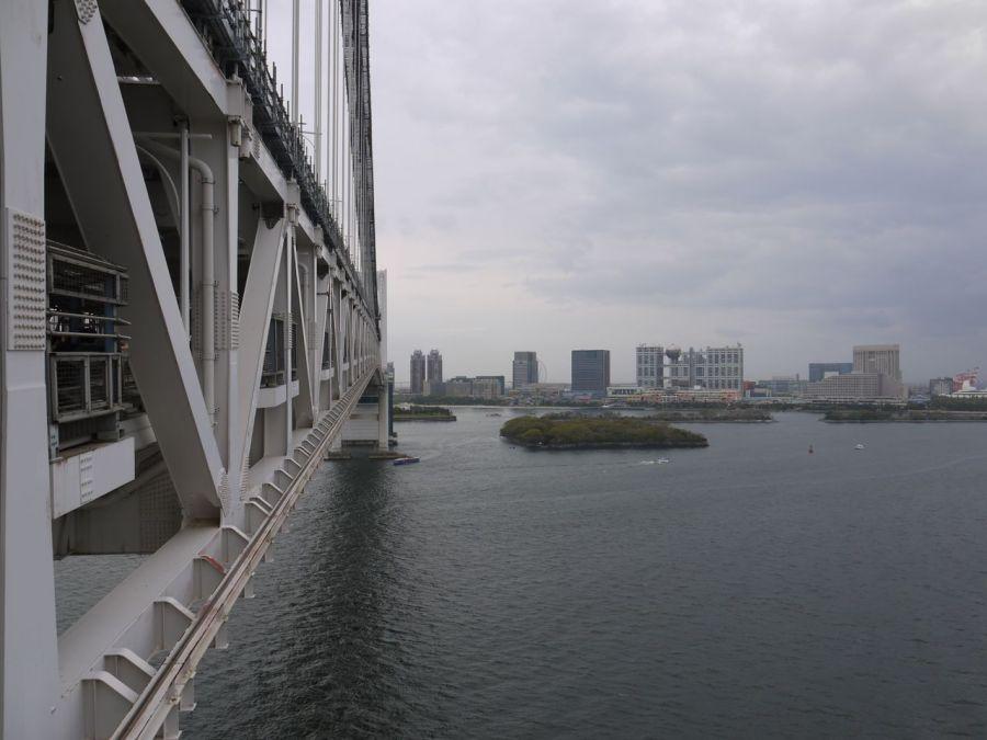 Rainbow Köprüsünden Odaiba