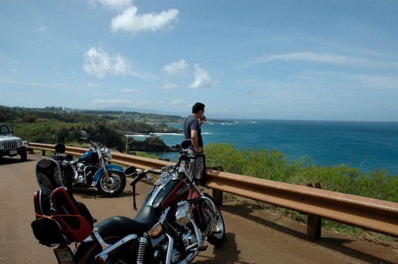 Harley'ler ve Maui