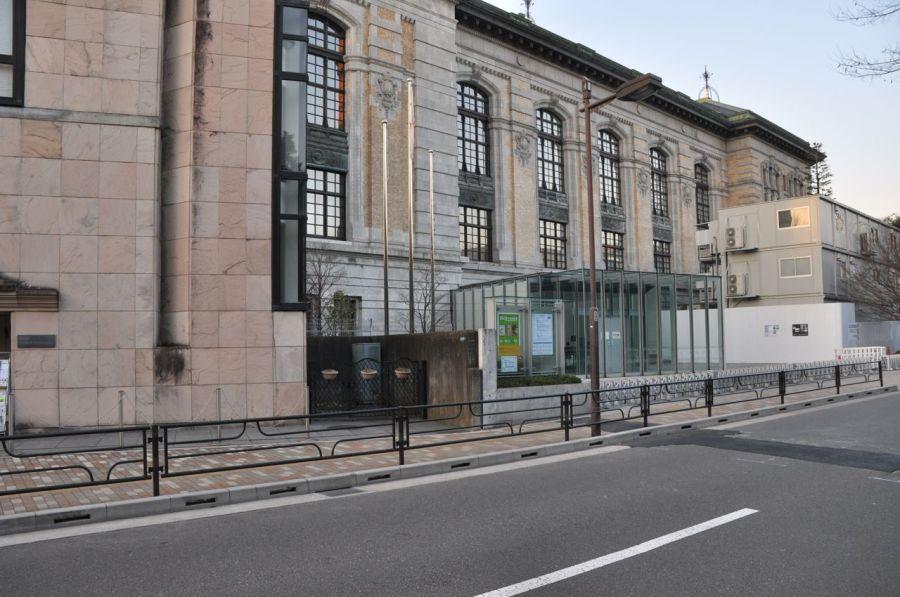 Çocuk edebiyatı kütüphanesinin tarihi binası. Restore edilmiş tabii