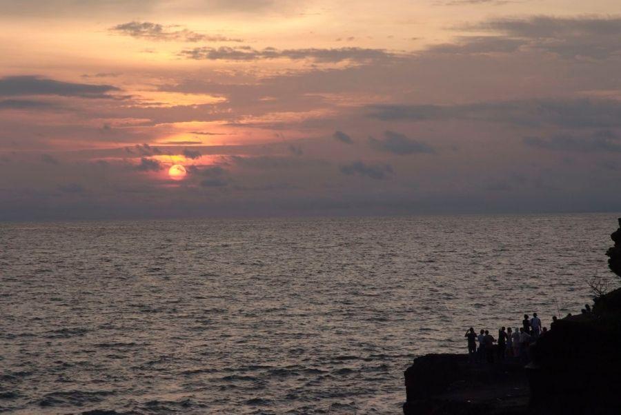 Güney Bali, gün batımı