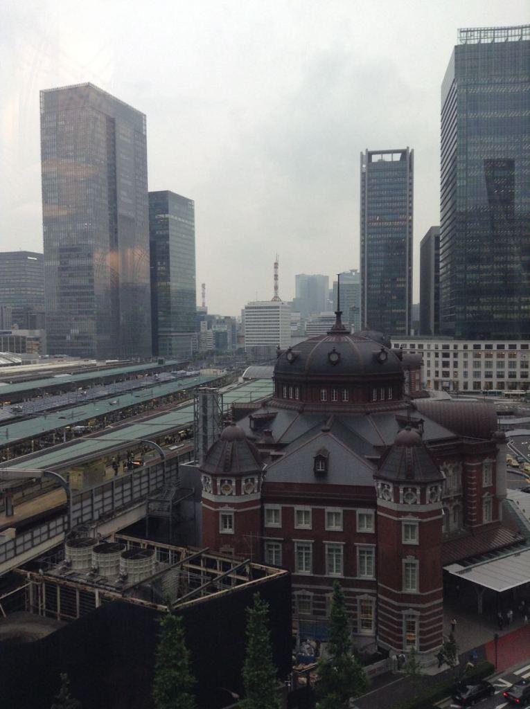 Tokyo istasyonu ve çevresi