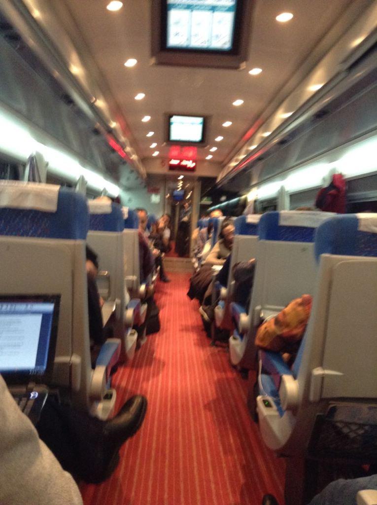 izmit-Ankara treni içi