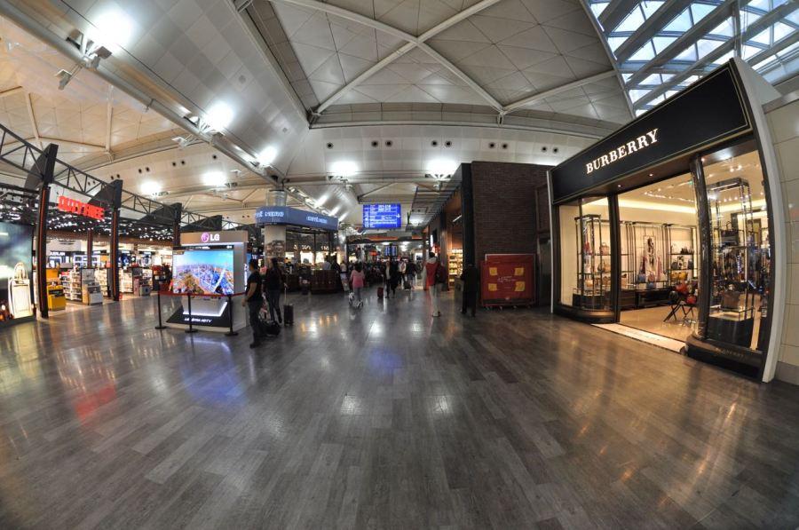 Istanbul havaalanında duty free