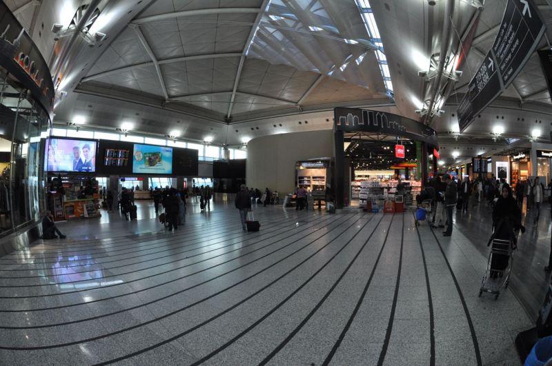 Atatürk havalimanı içi