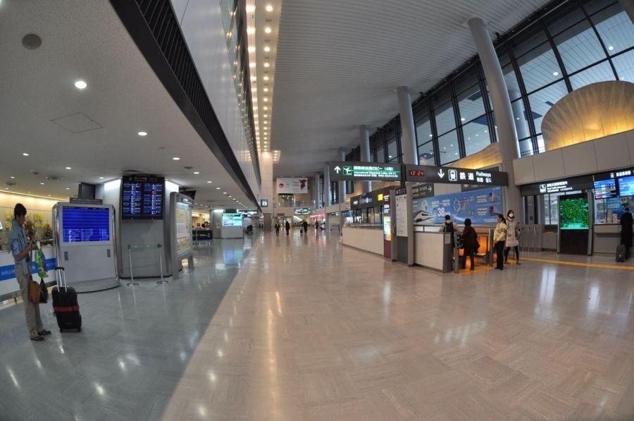 Narita geliş, kimsecikler yok