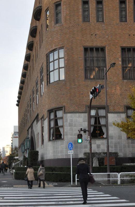Tokyo Üniversitesi'nin doğduğu bugün Gakushikan diye anılan bina.