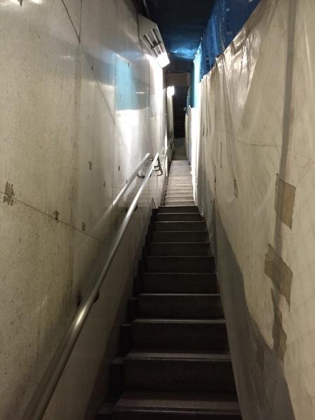 Bir başka metro görüntüsü- bir de burayı yüzlerce insanla hayal edin.
