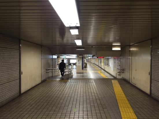 Tipik bir metro içi görüntüsü