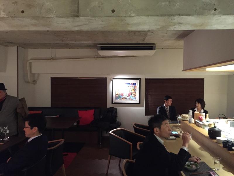 Restoran içinden bir görüntü