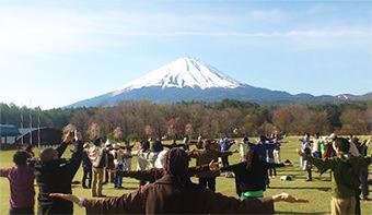 Fuji Dağı eteklerinde (tnhjapan.org sitesinden izinsiz alınmıştır)