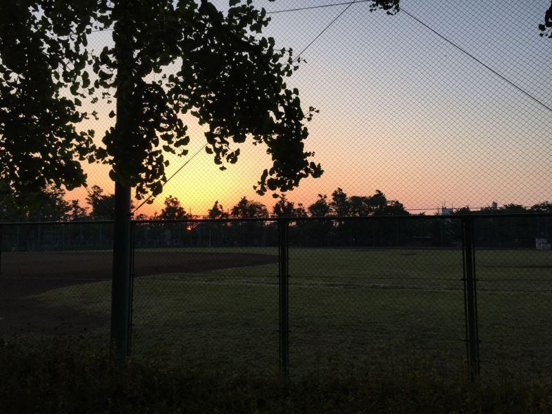 Bu park sabahın köründe böyle (saat 05:30 civarı)