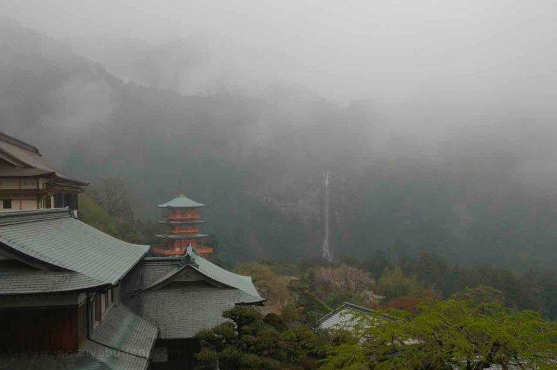 Tapınaklar ve mabetler furusato Japonyası