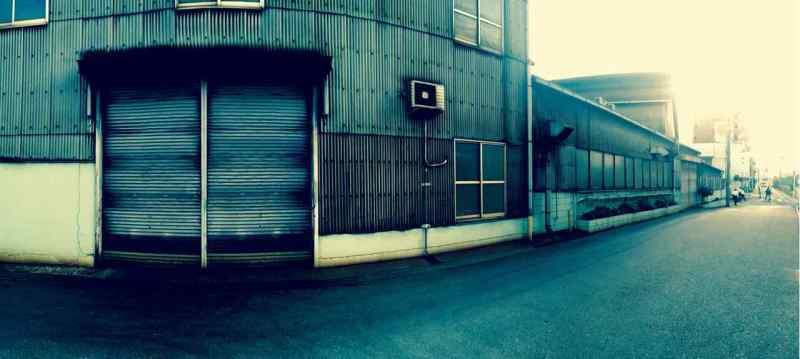 Osaka'da bir dökümhanenin dışı