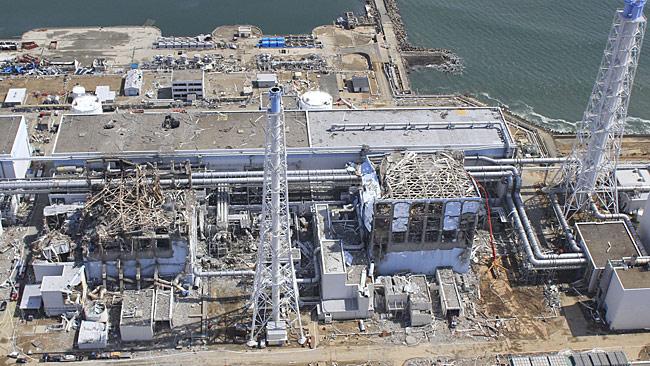 Fukuşima nükleer güç sanralinde sızıntı yapan reaktör (kaynak: news.com.au)