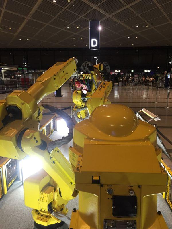 FANUC robotler, fabrika otomasyonunda son nokta