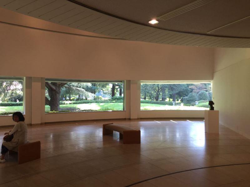 Müzenin içinde sergi kısmında