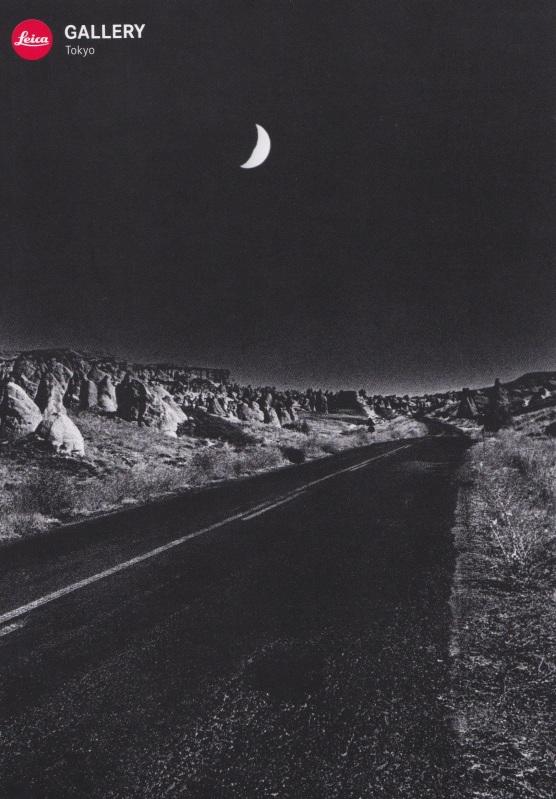 Sanatçının sergisini duyuran Leica Galerisi kartpostalı