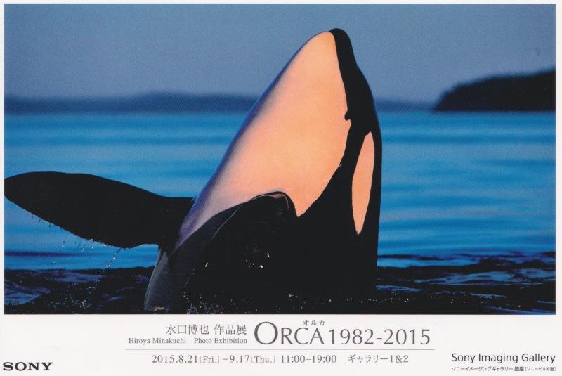 Orca sergisinin tanıtım kartpostalı