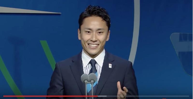 Yuki Ota, 7 Eylül 2013 akşamı TV'de konuşurken