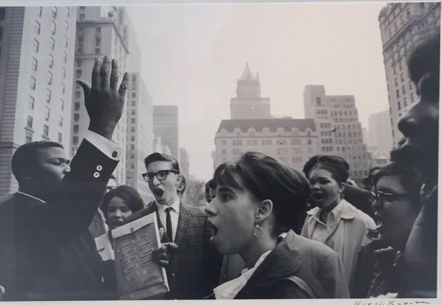 Vietnam savaşına karşı New York'a bir protesto - 1964