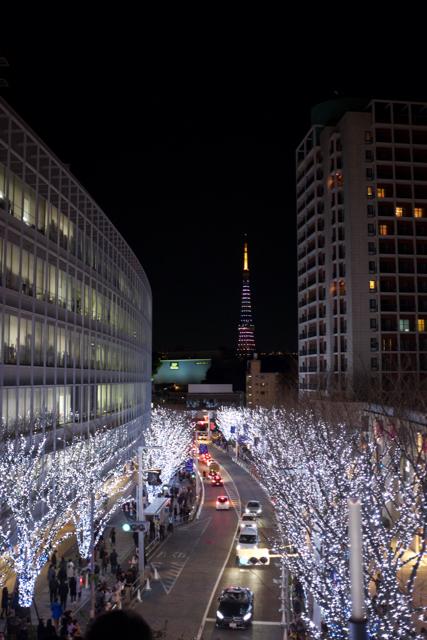 Uzakta Tokyo Kulesi